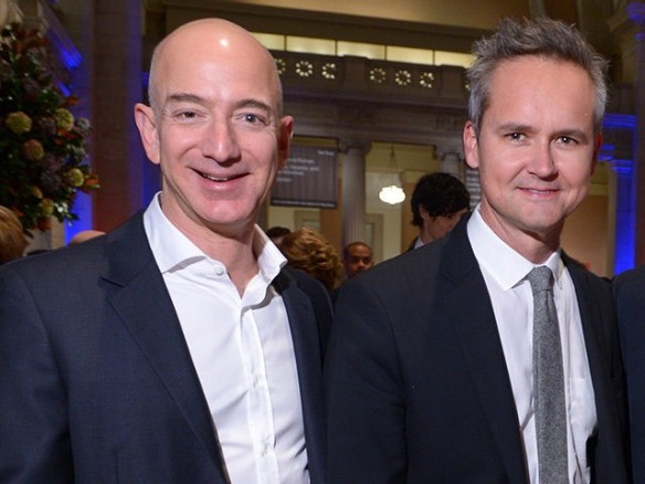 Jeff Bezos and Roy Price