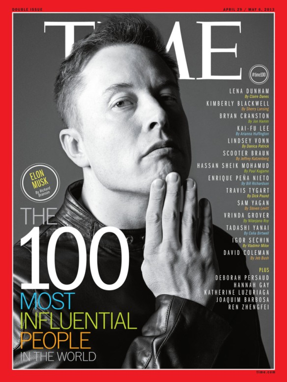 Elon Musk - Time magazine cover