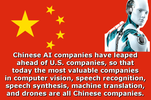 Chinese flag AI
