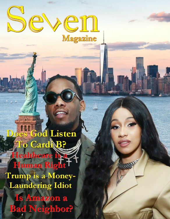 Seven Magazine Cardi B