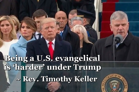Harder to be an American evangelical